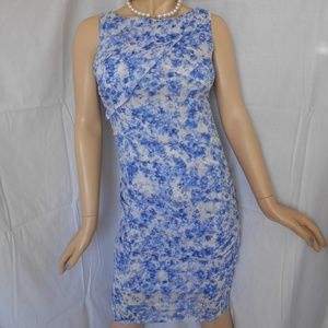 Nwt $138 ANN TAYLOR Sleeveless Ruffled Dress Sz 2